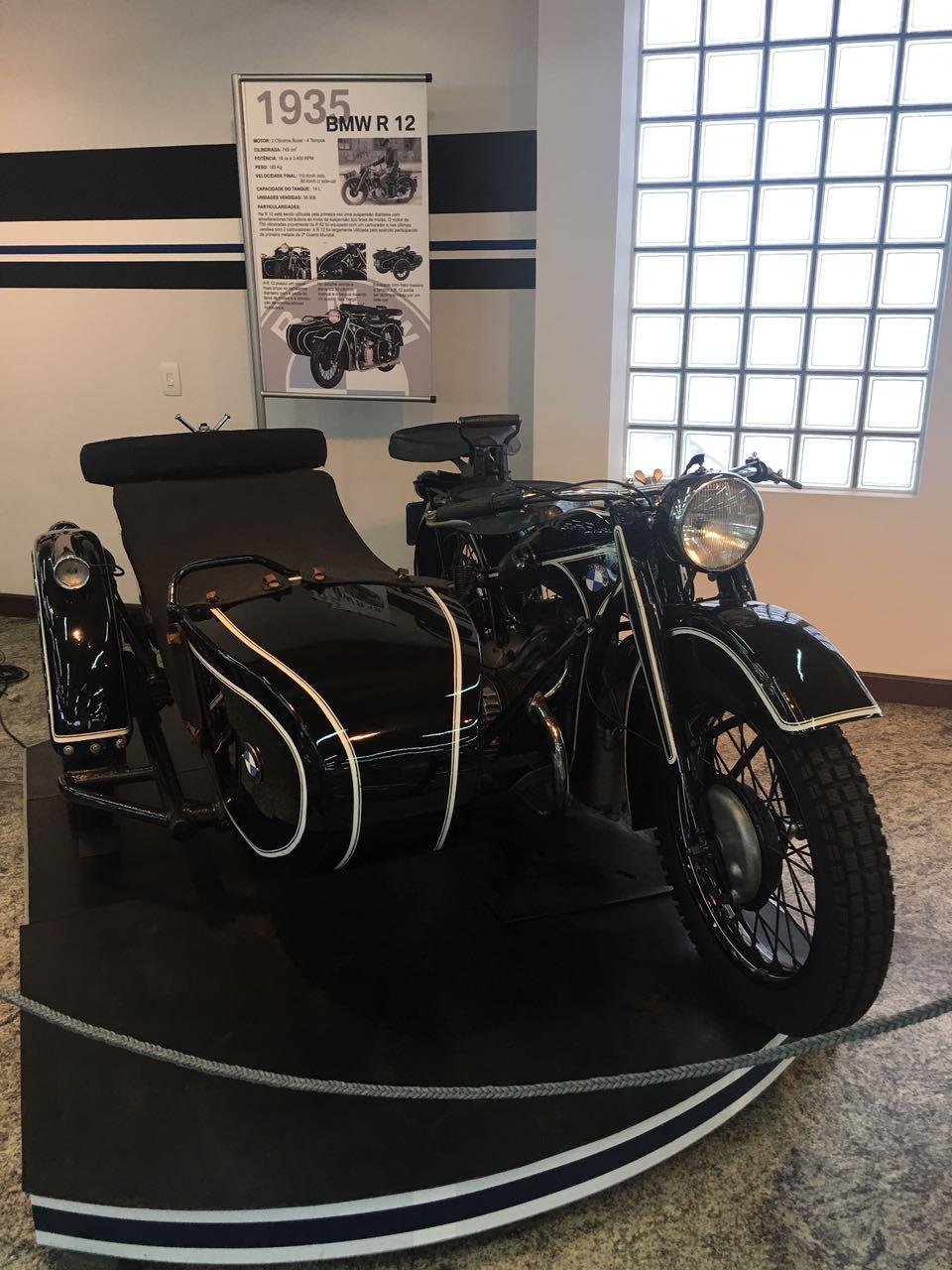 Museu motos BMW