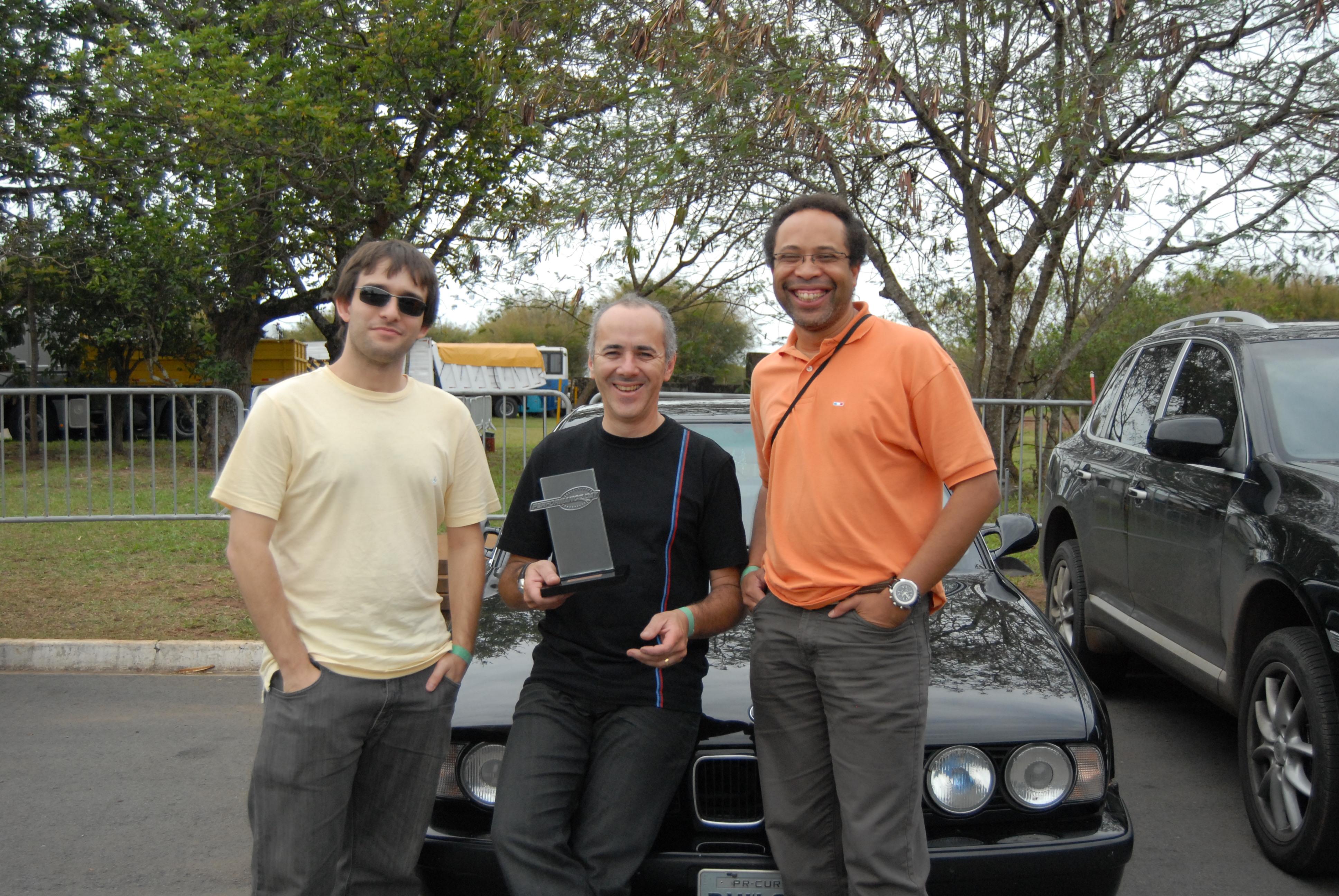 Socios do BMW Car Club
